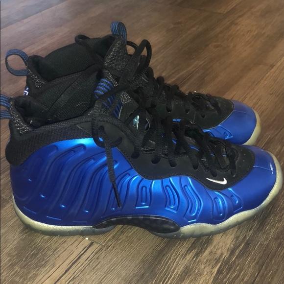 Nike Shoes | Nike Foamposite Royal Blue
